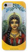 Radha IPhone Case by Vrindavan Das