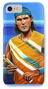 Rafael Nadal IPhone Case by Paul Meijering