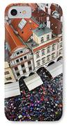 Rainy Day In Prague-2 IPhone Case by Diane Macdonald