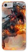 Rakdos Ragemutt IPhone Case by Ryan Barger