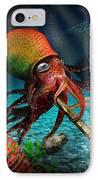 Rasta Squid IPhone Case by Alessandro Della Pietra