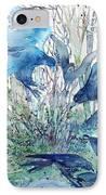 Ravens Wood IPhone Case by Trudi Doyle