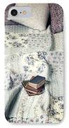 Reading Time IPhone Case by Joana Kruse