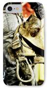 Ready To Ride IPhone Case by Lincoln Rogers