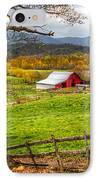 Red Barn IPhone Case by Debra and Dave Vanderlaan