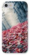 Red Carpet IPhone Case by Edward Fielding