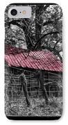 Red Roof IPhone Case by Debra and Dave Vanderlaan
