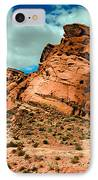 Red Sandstone IPhone Case by Robert Bales
