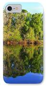 Reflections On The River IPhone Case by Debra Forand