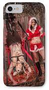 Reindeer Slay IPhone Case by Steven Walker