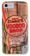 Rev. Zombie's IPhone Case by David Bearden