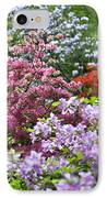 Rhododendron Garden IPhone Case by Frank Tschakert