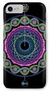 Rising Above Challenges IPhone Case by Keiko Katsuta