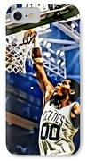 Robert Parish  IPhone Case by Florian Rodarte