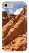 Rock Formations In The Valley Of Fire IPhone Case by Jane Rix