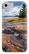 Rocky Shore Of Georgian Bay IPhone Case by Elena Elisseeva