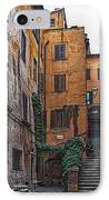 Roman Backyard IPhone Case by Hanny Heim