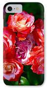 Rose 124 IPhone Case by Pamela Cooper