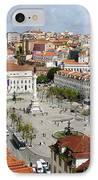 Rossio Square IPhone Case by Carlos Caetano