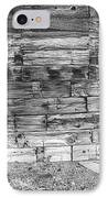 Rustic Old Colorado Barn Door And Window Bw IPhone Case by James BO  Insogna
