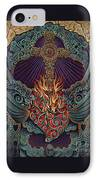 Sacred Heart IPhone Case by Ricardo Chavez-Mendez