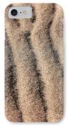 Sand Patterns IIi IPhone Case by John Rizzuto