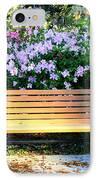 Savannah Bench IPhone Case by Carol Groenen