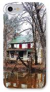Schuylkill Canal Port Providence IPhone Case by Bill Cannon