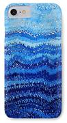 Sea And Sky Original Painting IPhone Case by Sol Luckman