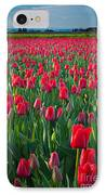 Sea Of Red Tulips IPhone Case by Inge Johnsson