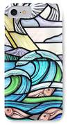 Seascape IPhone Case by Gilroy Stained Glass