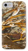 Seaweed Swirls IPhone Case by Artist and Photographer Laura Wrede