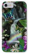 Secret Butterfly IPhone Case by Alixandra Mullins