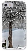 Shenandoah Winter Serenity IPhone Case by Lara Ellis