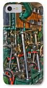 Ship Engine IPhone Case by Heiko Koehrer-Wagner