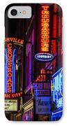 Signs Of Music Row Nashville IPhone Case by John McGraw