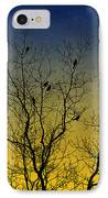 Silhouette Birds Sequel IPhone Case by Christina Rollo