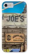 Sloppy Joe's Bar Canopy Key West - Hdr Style IPhone Case by Ian Monk