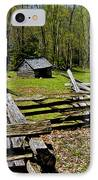 Smoky Mountain Cabins IPhone Case by Paul W Faust -  Impressions of Light