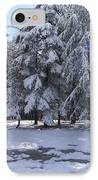 Snow IPhone Case by Boultifat Abdelhak badou