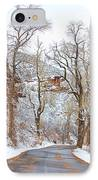 Snow Dusted Colorado Scenic Drive IPhone Case by James BO  Insogna