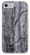 Snow In The Forest IPhone Case by Diane Diederich