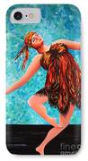 Solo Performance IPhone Case by Kaye Miller-Dewing
