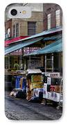 South Philly Italian Market IPhone Case by Bill Cannon