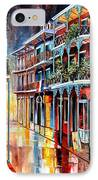 Sparkling French Quarter IPhone Case by Diane Millsap