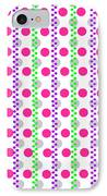 Spotty Stripe IPhone Case by Louisa Hereford