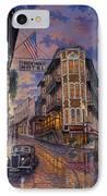 Spring Street Memories IPhone Case by Kyle Wood