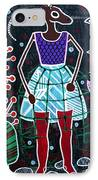 Springy Ram IPhone Case by Amy Sorrell