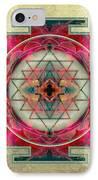 Sri Yantra  IPhone Case by Filippo B