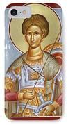St Dimitrios The Myrrhstreamer IPhone Case by Julia Bridget Hayes